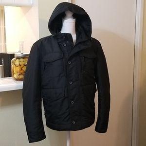Geox Respira Black Cargo Jacket